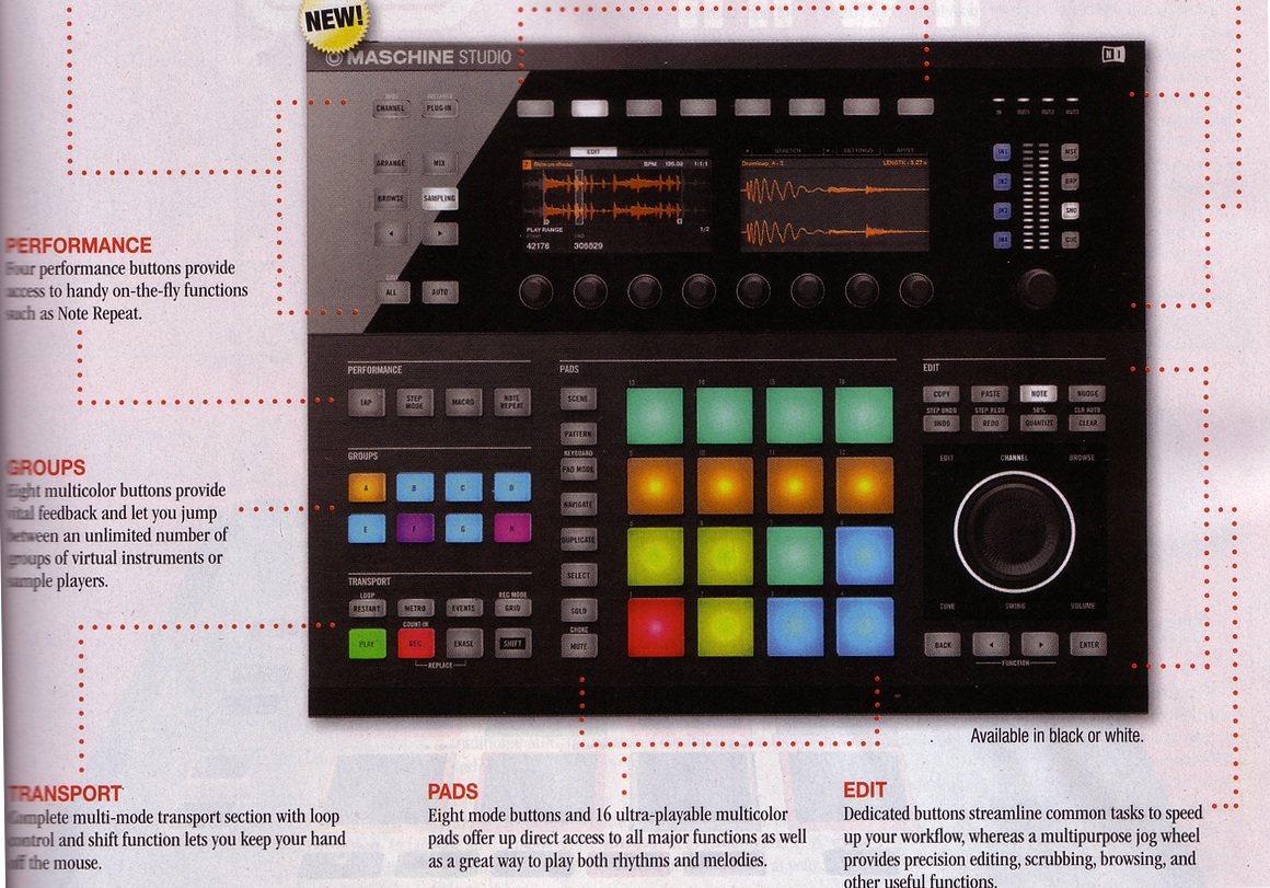 New Native Instruments Maschine Studio 2.0 Controller