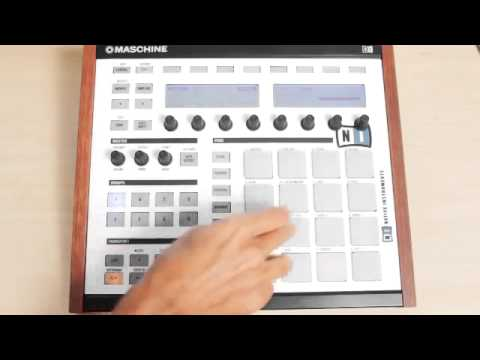 sequencing boombap drums in maschine maschine masters. Black Bedroom Furniture Sets. Home Design Ideas