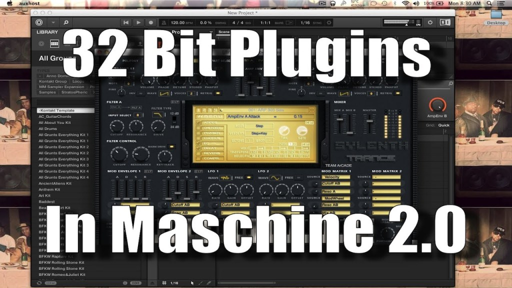 Open 32 bit VST Plugins in Maschine 2 0 using JBridger