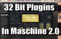 Open 32 bit VST Plugins in Maschine 2.0 using JBridger