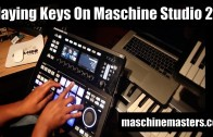 Playing Piano with Drum Pads on Maschine Studio