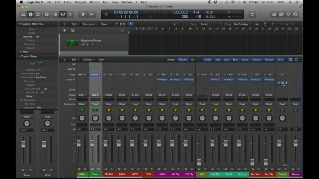 How To Create Logic Pro Templates For Faster Workflow