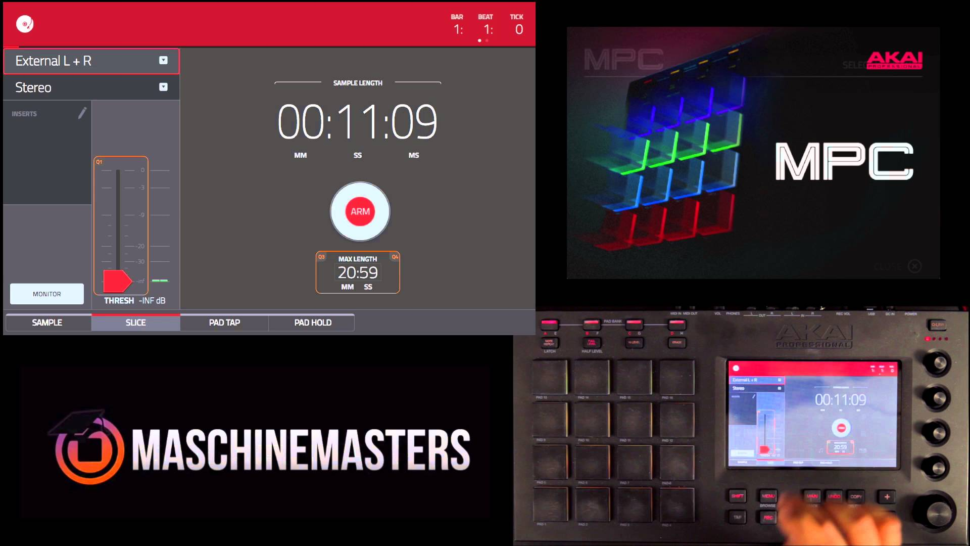 MPC Touch Tutorial - Live Chop To Pad - MPCMasters com