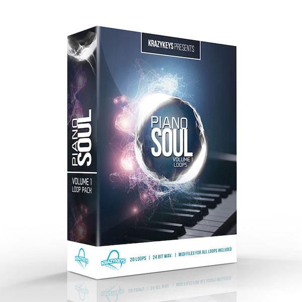Composer Series - Piano Soul Vol  1 Loop & Midi Pack
