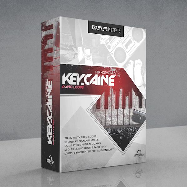 Hip Hop Series - Key-Caine Loop & Midi Pack