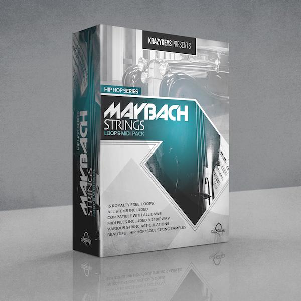 Hip Hop Series - Maybach Strings Loop & Midi Pack