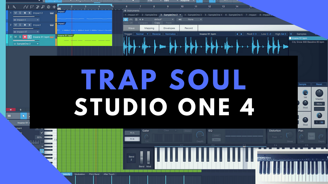 Studio One 4 Beat Making | Trap Vocals And Break Beats