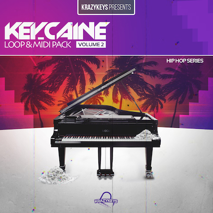 Key-Caine Vol 2 Loop & Midi Pack